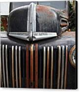 Nostalgic Rusty Old Ford Truck . 7d10281 Canvas Print by Wingsdomain Art and Photography