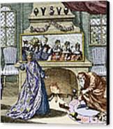 Nostradamus's Magic Mirror Canvas Print by Sheila Terry
