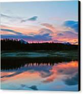 November Sunrise Canvas Print by Bob Berwyn