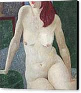 Nu 14 Canvas Print by Leonid Petrushin