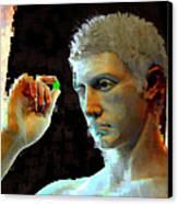 Nude Face Canvas Print by Ilias Athanasopoulos