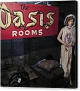 Oasis Bordello Basement - Wallace Idaho Canvas Print by Daniel Hagerman