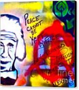 Occupy Einstein Canvas Print by Tony B Conscious