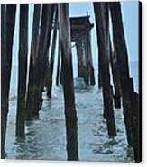 Ocean City 59th Street Pier Canvas Print by Bill Cannon