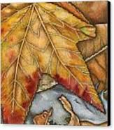 October Canvas Print by Nora Blansett