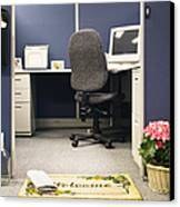 Office Cubicle Canvas Print by Andersen Ross