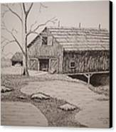 Old Barn Canvas Print by William Deering