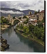 Old Bridge Of Mostar Canvas Print by Ayhan Altun