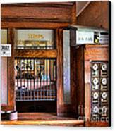 Old Fashion Post Office Canvas Print by Paul Ward