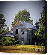 Old Home In Indiana Canvas Print by Joyce Kimble Smith