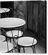 Old Ice Cream Parlor Canvas Print by Maryann Flick