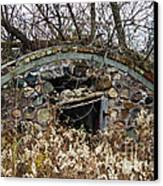 Old Ice House Canvas Print by Ms Judi