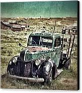 Old Rusty Truck Canvas Print by Jill Battaglia