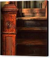 Old Staircase Canvas Print by Jill Battaglia