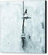 Old Street Lamp Canvas Print by Silvia Ganora