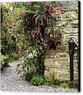 Old Water Pump, Ram House Garden, Co Canvas Print by The Irish Image Collection