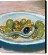Olives Canvas Print by Scott Bennett