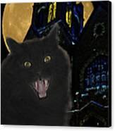 One Dark Halloween Night Canvas Print by Shane Bechler
