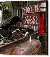 One Mans Treasure Canvas Print by Peter Chilelli