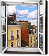 Open Window Canvas Print by Elena Elisseeva