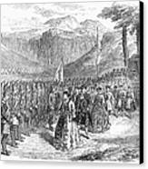 Opera: Grand Duchess, 1867 Canvas Print by Granger