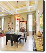 Ornate Dining Room Canvas Print by Skip Nall