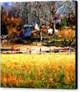 Our View Canvas Print by Marilyn Sholin