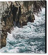 Pacific Coast Highway Seascape Canvas Print by Gregory Scott