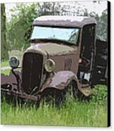 Painted 30's Chevy Truck Canvas Print by Steve McKinzie