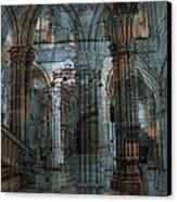 Palace Hall Canvas Print by Angel Jesus De la Fuente