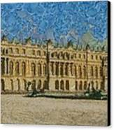 Palace Of Versailles Canvas Print by Aaron Stokes