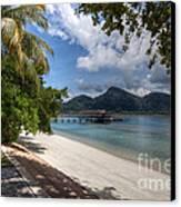 Paradise Island Canvas Print by Adrian Evans