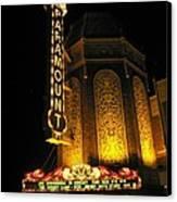 Paramount Theatre Illinois Canvas Print by Todd Sherlock