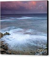 Pastel Storm Canvas Print by Mike  Dawson