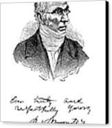 Patrick Bront� (1777-1861) Canvas Print by Granger