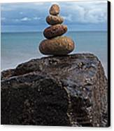 Pebble Sculpture Canvas Print by Richard Thomas