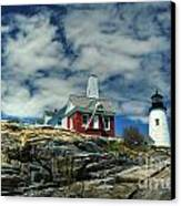 Pemaquid Lighthouse Canvas Print by Alana Ranney