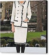Penelope Cruz Wearing A Chanel Suit Canvas Print by Everett