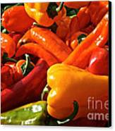 Pepper Palooza Canvas Print by Susan Herber