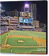 Petco Park San Diego Padres Canvas Print by RJ Aguilar
