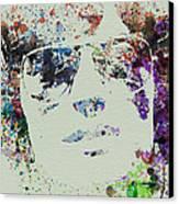Peter Fonda Easy Rider Canvas Print by Naxart Studio