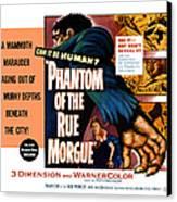 Phantom Of The Rue, Patricia Medina Canvas Print by Everett