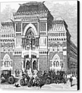 Philadelphia: Museum, 1876 Canvas Print by Granger