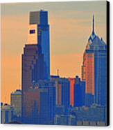 Philadelphia Sunrise Canvas Print by Bill Cannon