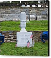 Phillies Harry Kalas' Grave Canvas Print by Bill Cannon
