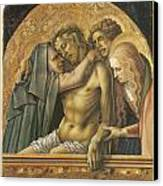 Pieta Canvas Print by Carlo Crivelli