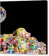 Pile Of Color In Space Two K O Four Canvas Print by Carl Deaville