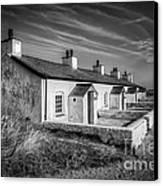 Pilot Cottages Canvas Print by Adrian Evans