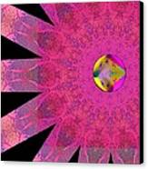 Pink Ribbon Of Hope Canvas Print by Alec Drake