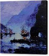 Pirate's Cove Canvas Print by R W Goetting